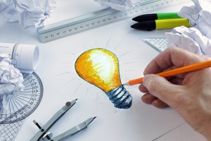 Bright ideas - innovating for online business sales.