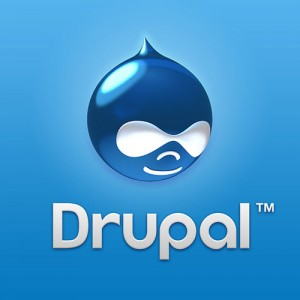 Drupal CMS web design software.