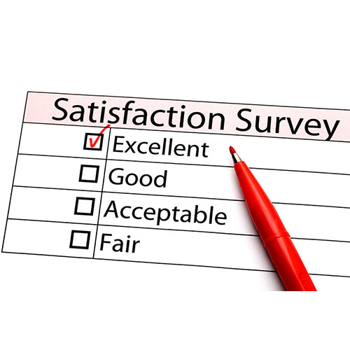 The importance of customer satisfaction.