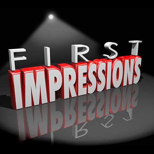 Creating a Great First Impression for your Website
