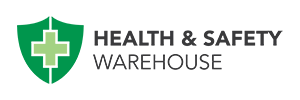Health and safety warehouse customer logo.
