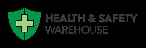 Health and safety warehouse customer logo.