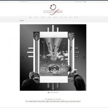 Fine art, Our portfolio of web designs.