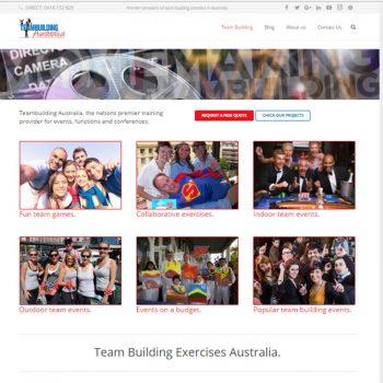 Team Building, Our portfolio of web designs.